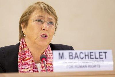 Michelle Bachelet exigió la liberación inmediata de los detenidos en las protestas contra la dictadura cubana