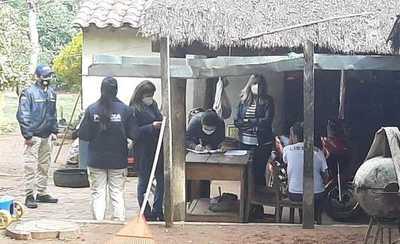 Allanan una vivienda en Caraguatay tras difusión de fotografías de contenido pornográfico de una menor