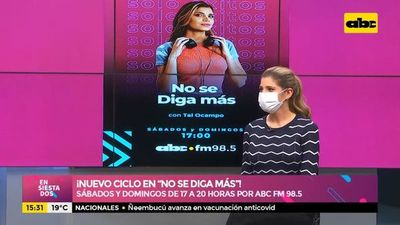 """¡Nuevo ciclo en """"No se diga más""""!"""