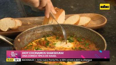 ¡Hoy cocinamos Shakshuka!