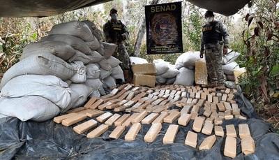 En incursión rural desmantelan narcocampamento en zona de Canindeyú