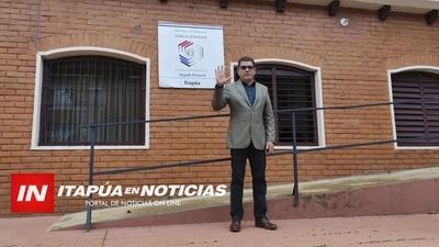 VICTOR CASAS RUMBO A LA INTENDENCIA DE TOMÁS R. PEREIRA.