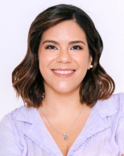 Johanna es la única mujer candidata en Asunción