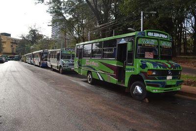 Ciudad del Este: transportistas obtienen aumento de G.500 en el precio del pasaje