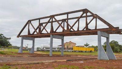 Carmen del Paraná rescata puente del ferrocarril Carlos Antonio López