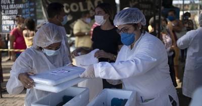 La Nación / Brasil empieza a verlos resultados de la vacunación anticovid