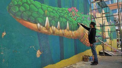 Invitan a recorrer  mañana los  murales del centro capitalino