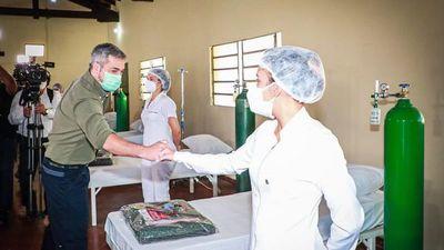 Contingencia Covid del Cimee cerrará por baja de pacientes