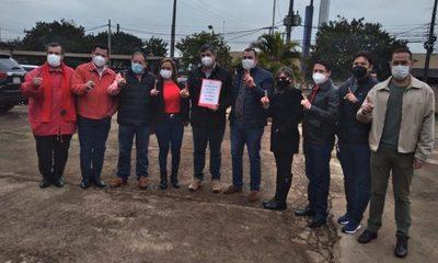 Colorados de Presidente Franco inscriben candidatura para las municipales de octubre – Diario TNPRESS