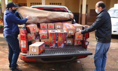 Municipalidad de CDE entrega segunda partida de alimentos a varias escuelas – Diario TNPRESS