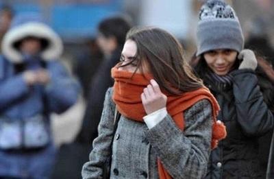 Meteorología pronostica sábado con bajas temperaturas y vientos del sur