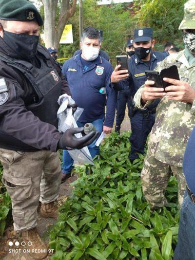 Tras hallazgo de explosivo refuerzan la seguridad de Carmen Villalba – Prensa 5