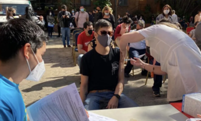Este sábado y domingo se aplica la segunda dosis de la vacuna anti-COVID