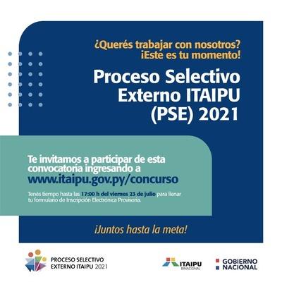 Abren nuevo PSE para incorporar a 179 empleados paraguayos en Itaipu