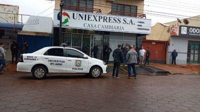 Asesinan a guardia de seguridad durante intento de asalto en Pedro Juan Caballero
