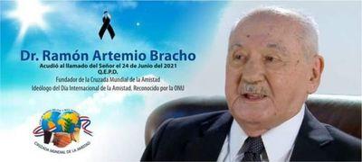 """El """"Día Internacional de la Amistad"""" se celebrará a partir de ahora sin su principal ideólogo, falleció el Dr. Ramón Artemio Bracho"""