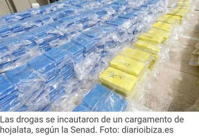 Incautan en Alemania y Bélgica 23 toneladas de cocaína procedentes de Paraguay, récord en Europa