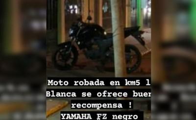 Delivery es despojado de su moto, celular y el pedido del cliente