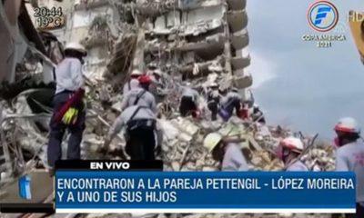 Tragedia en Miami: Hallan cuerpos de la familia Pettengill-López Moreira