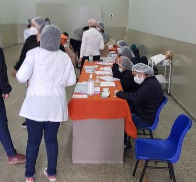 Campaña de vacunación en el Amambay, un ejemplo para todo el país