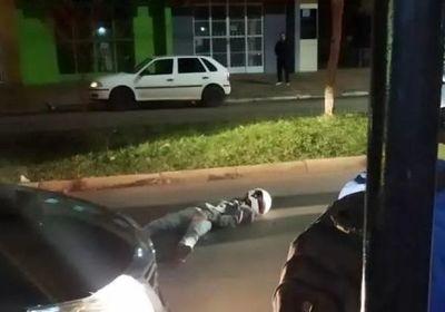 Paraguayo cae abatido por un policía civil durante un intento de asalto