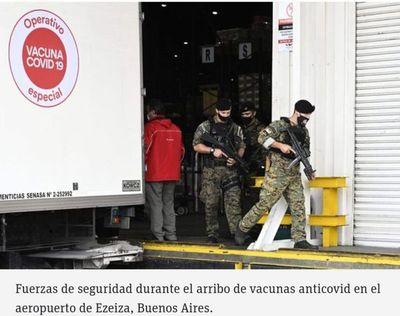 Investigan el robo de vacunas contra el covid-19 en Argentina