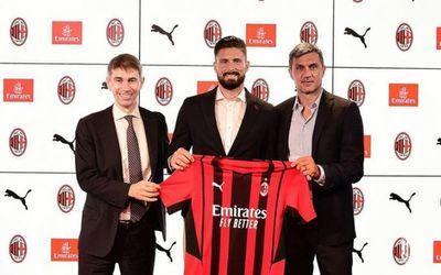 El AC Milan ficha al delantero francés Olivier Giroud