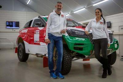 Lafarja correrá en  el Dakar del 2022