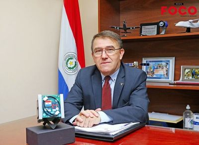 Paraguay en el espacio