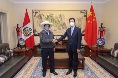 PERU: Sin resultados electorales, Pedro Castillo pacta cooperación con China