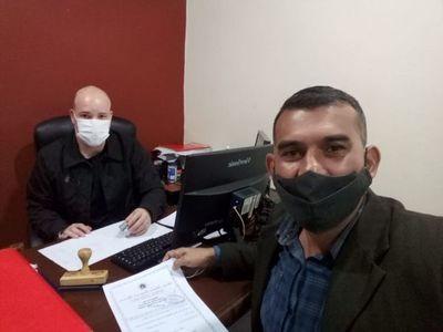 Abogado 360 inscribió su candidatura para concejal municipal de Pedro Juan Caballero