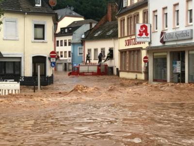 """Inundaciones en Europa: """"El cambio climático ya llegó"""""""