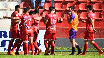 Resumen del partido General Caballero JLM 2-0 Sportivo Ameliano