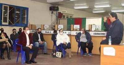 La Nación / Piden a senadores acompañar el proyecto de instalación de un  juzgado en Roque Alonso