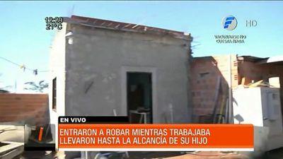 Delincuentes vaciaron una vivienda en Capiatá