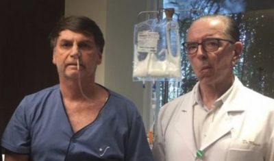 Bolsonaro será dado de alta este domingo, dice médico