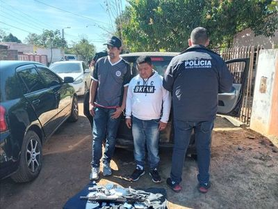 Capturan a presuntos asaltantes en Luque