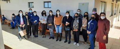 Alto Paraná: Más de 1.500 personas se aplicaron la segunda dosis antiCOVID este sábado