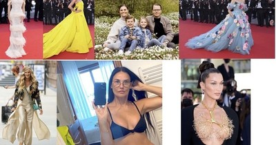 La Nación / El lujo vuelve, la princesa que se casó por amor, Carrie pasea de nuevo y Demi sin filtro