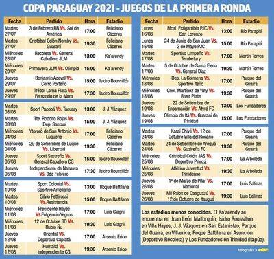 Tercera edición de la Copa Paraguay