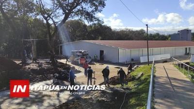 OBRAS PARA NUEVO PABELLÓN EN IPS AVANZAN VERTIGINOSAMENTE.