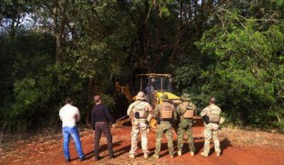 Destruyen 15 puertos clandestinos en el lago Itaipú del lado brasileño