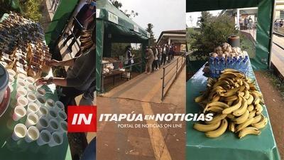DESAYUNO, ALMUERZO, MERIENDA Y CENA PARA FAMILIARES DE INTERNADOS EN IPS.