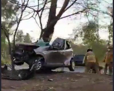 Hijo de Chiqui Arce fallece en accidente