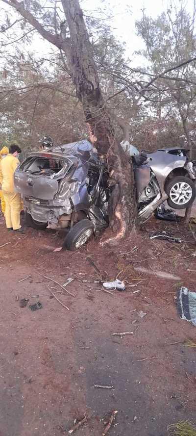 Fatal accidente en Luque