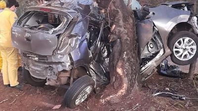 Hijo de Francisco Arce fallece tras chocar contra un árbol en Autopista
