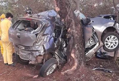 Hijo de Chiqui Arce falleció en un accidente sobre la autopista Ñu Guasu