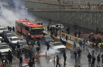 Al menos dos muertos en protestas por escasez de agua en suroeste de Irán