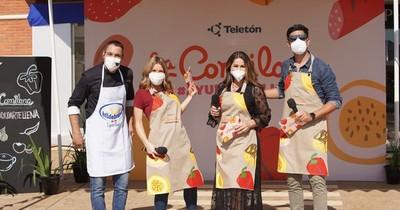 La Nación / Teletón continúa hoy con su fiesta gastronómica