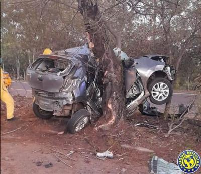 Hijo Chiqui Arce muere en accidente en la Autopista Silvio Pettirossi •